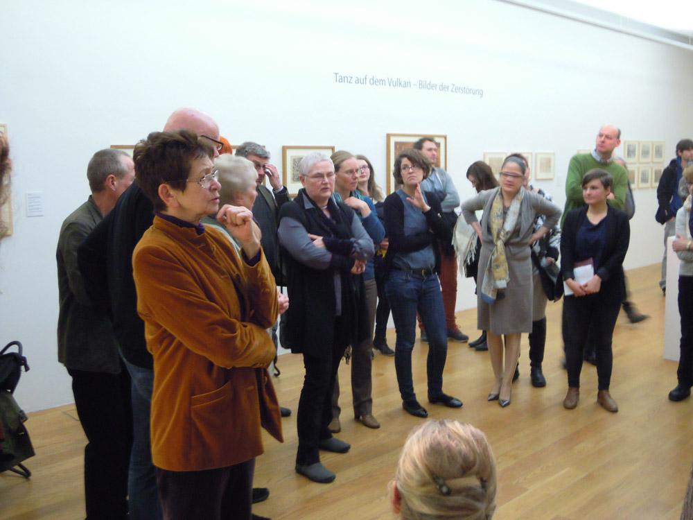 Foto einer Veranstaltung des Freundeskreises der Städtischen Galerie Dresden